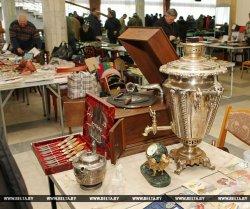 В минском Дворце культуры и спорта железнодорожников проходит выставка для коллекционеров