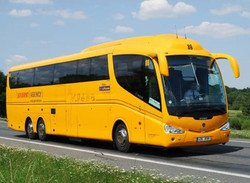 Бюджетный автобус курсирует между Веной и Братиславой, цена билета – 4 евро