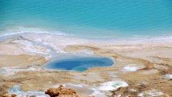 Израильские исследователи зафиксировали стремительное обмеление Мертвого моря