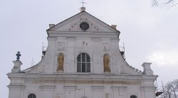 В бывшем монастыре иезуитов в Несвиже найдены остатки уникальной живописи XVIII века