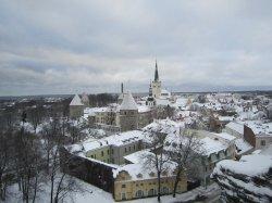 Путешествие по странам Балтии: суровый Таллинн