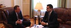 Новый посол Польши вручил главе МИД Беларуси копии верительных грамот