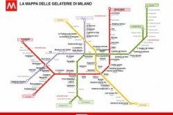 Милан создал карту кафе-мороженых