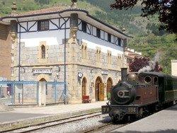 Страна Басков предлагает поездки на историческом поезде