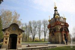 После реставрации открыта фамильная усыпальница Паскевичей