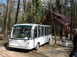 Первый в Гродненской области электроавтобус будет использоваться в туристических целях
