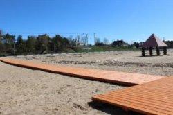 Браславский пляж готовят к летнему сезону