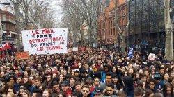 Во Франции началась неделя транспортных забастовок