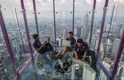 В Малайзии открыли новую стеклянную обзорную площадку