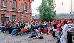 Во дворике исторического музея Минска – бесплатные кинопоказы все лето
