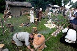 В национальном парке «Беловежская пуща» начали строить археологический музей под открытым небом