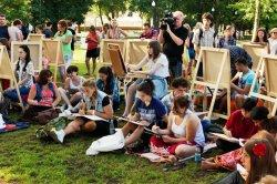 Выходные: пленэр в Лошицком парке, парусная регата на Минском море и проект «Пешеходка» в Верхнем городе
