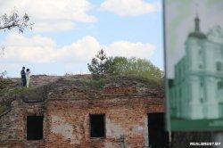 В ближайшее время в Бресте заблокируют проезд к руинам бернардинского монастыря