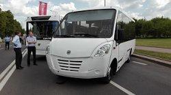В Лиде представили новинку – туристский автобус марки «Неман 420224-11»