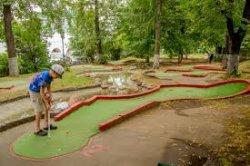 В Могилеве можно бесплатно поиграть в мини-гольф