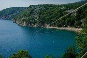 В Хорватии появился первый европейский зип-лайн над морем