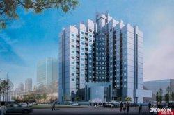 Фотофакт: китайцы показали, как после реконструкции будет выглядеть гостиница «Гродно»