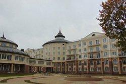 В Глубокском районе открыли санаторий «Плисса», по форме напоминающий крест Евфросинии Полоцкой