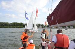 С 12 июля на Минском море будут проходить матч-рейсы на спортивных яхтах