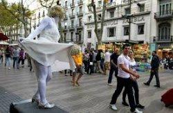 50% автодорог Барселоны станут пешеходными