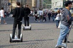 В Праге с улиц убирают сегвеи
