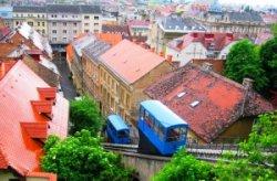В Хорватии открылся самый короткий в мире фуникулер