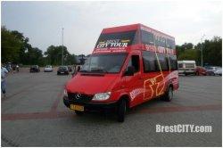 В Бресте появился ежедневный туристский автобус