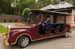 По историческому центру Гродно можно будет проехаться на электрическом Rolls-Royce