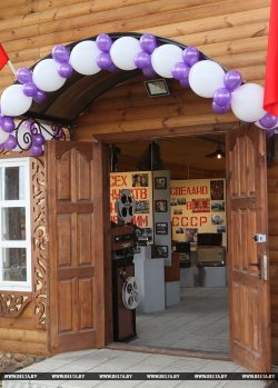 В Могилевской области открылся музей «Назад в СССР»