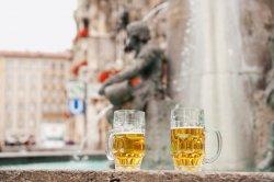 В одном из городов Словении открылся фонтан с пивом