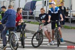 22 сентября в Минске состоится велопробег на светящихся велосипедах