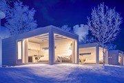 В финской Лапландии откроется стеклянный отель