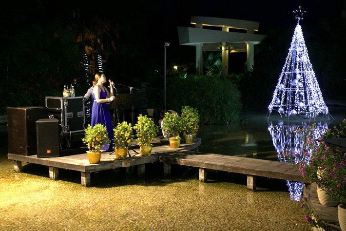 """Ужин в отеле Intime Resort, проходит под """"живую"""" музыку"""