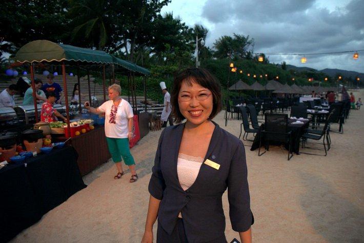 Солана Серен, менеджер отеля Sheraton Sanya Resort