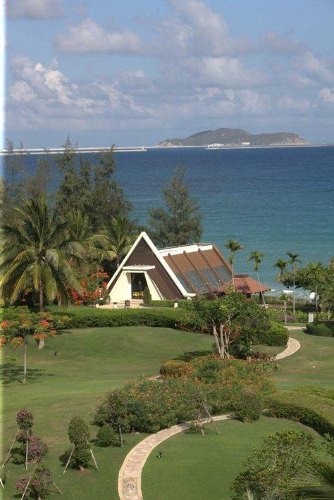 Свадебная часовня в Sanya Marriott Resort & Spa Hotel