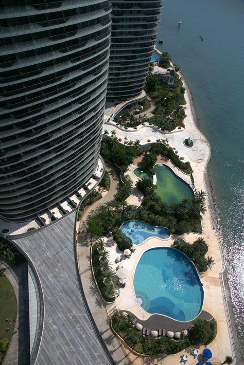 Вид с Phoenix Island Resort Sanya