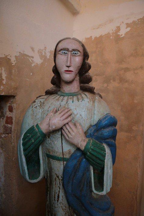 Друя, католическая скульптура