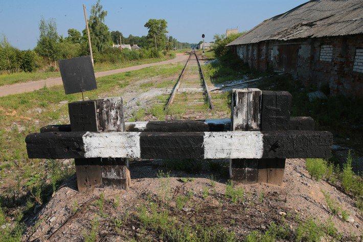 Друя остатки железнодорожной станции