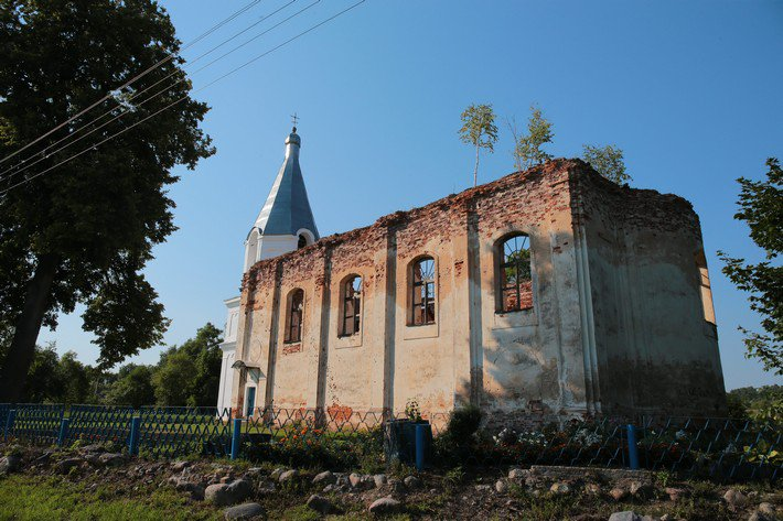 Друя Благовещенская церковь