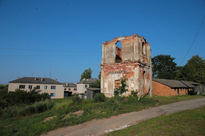 Руины Преображенской церкви