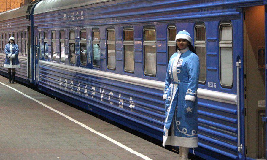 15 декабря из Минска в поместье Деда Мороза начнет ходить поезд