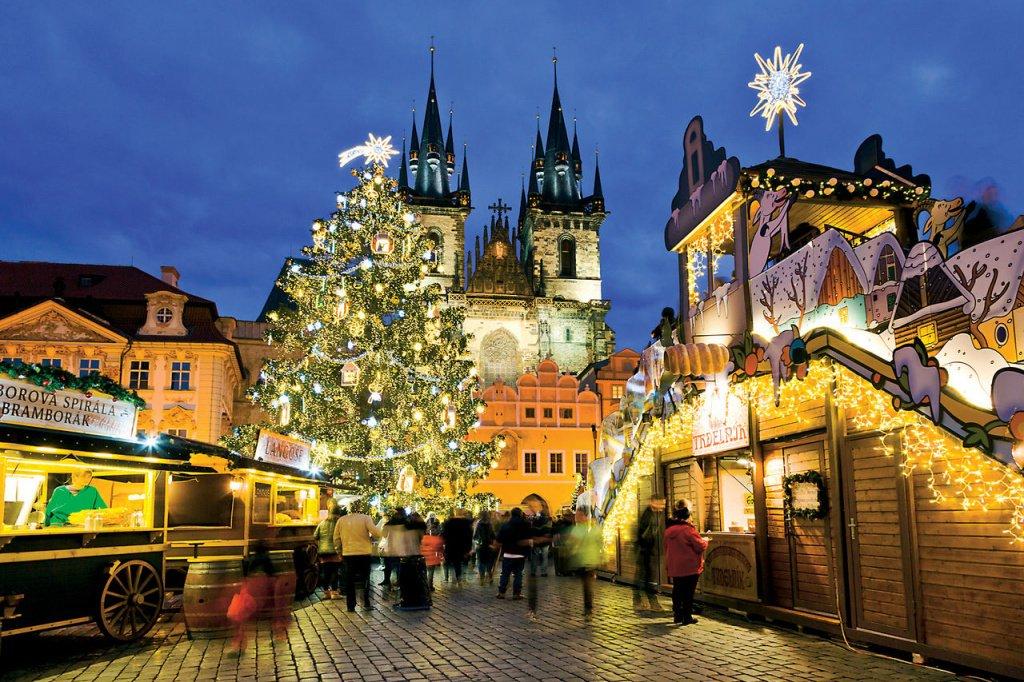 Рождественские ярмарки в Праге 2019